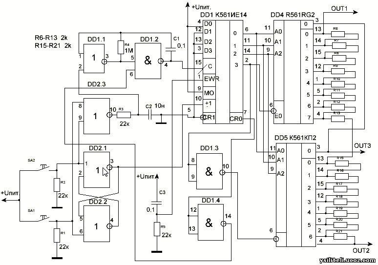 Электронные регуляторы уровня